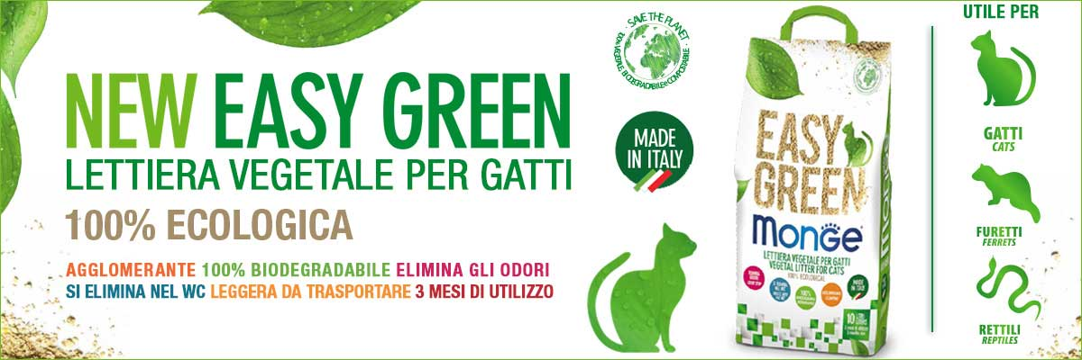 lettiera Monge Easy Green